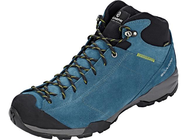 f7f303d7ff3 Scarpa Mojito Hike GTX Schoenen Heren blauw/zwart l Online outdoor ...